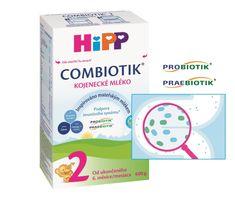 HiPP 2 BIO Combiotik Pokračovací MKV 600g