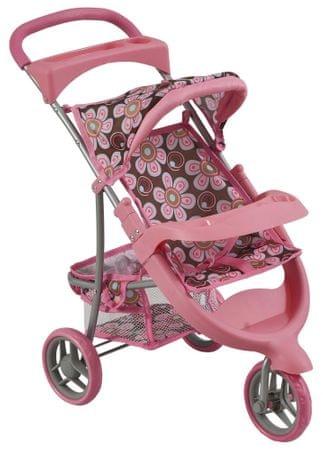 Bino otroški voziček za lutke, majhen