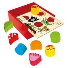 Bino kutija s oblicima - Krtić