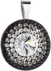 Evolution Group Čudovit srebrn obesek 34207.3 kristal + curek srebro 925/1000