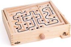 Woody labirint s nagibnim ravninama