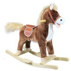 Bino gugalni konj v plišasti podobi