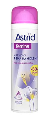 Astrid Kremowa pianka do golenia delikatne pielęgnacji 250 ml