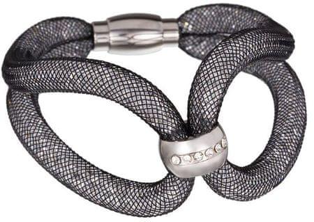 Preciosa Sheryl błyszczące bransoletka czarny 7282 20