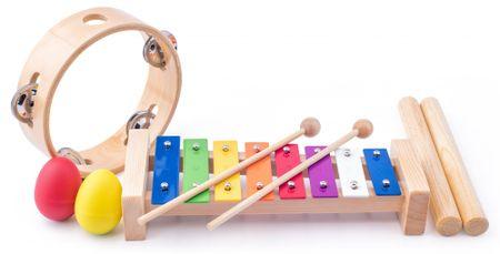 Woody Zenekészlet - tamburin/clave