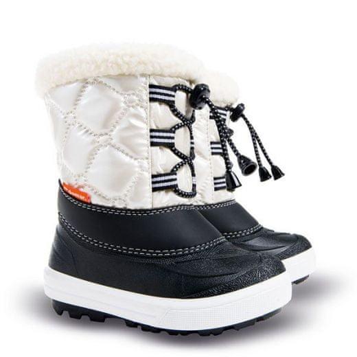 Demar Dětské sněhule Furry C 30-31 bílé