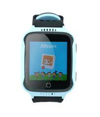 XBlitz Interaktívne detské inteligentné hodinky s kamerou a GPS lokátorom, Watch Me - modrá farba