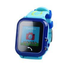XBlitz Interaktivní dětské chytré hodinky s GPS lokátorem, vodotěsné, Find Me, modrá barva