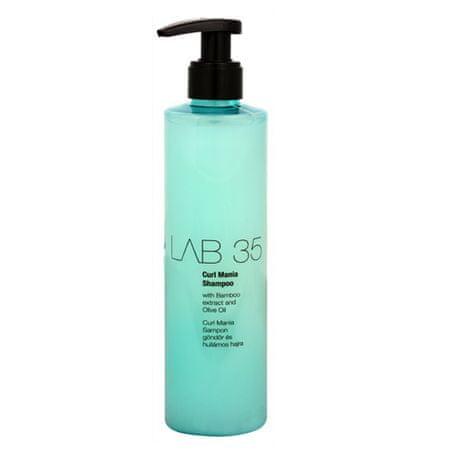 Kallos Szampony do włosów LAB35 kędzierzawy (Curl szampon Wyciąg z bambusa i oliwę z oliwek), 300 ml