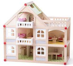 Woody Kétemeletes házikó erkéllyel