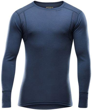 Devold moška hiking majica Hiking Man Shirt Night, L, temno modra