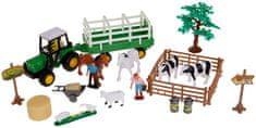 Alltoys Farmársky set v kufríku - vlek na balíky