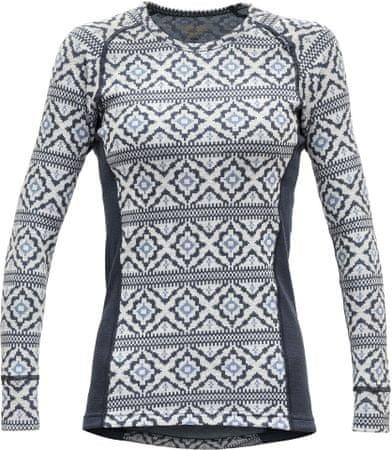 Devold ženska majica z dolgimi rokavi Ona Woman Shirt Night, XS