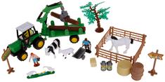 Alltoys Farmársky set v kufríku - vlek na drevo