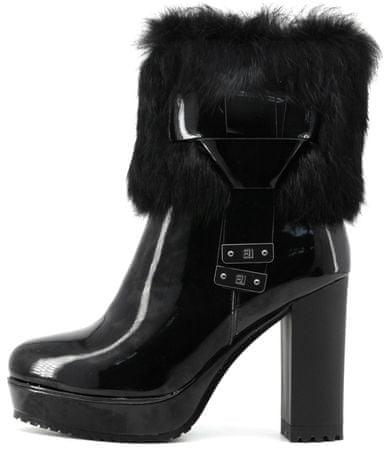 117b9989b Laura Biagiotti dámská kotníčková obuv 40 černá | MALL.CZ