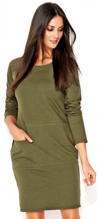 Numinou dámské šaty 40 zelená
