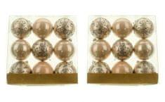 Seizis Gule s ornamentami 9 ks, pastelové