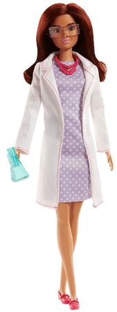 Mattel Barbie Prva izdaja - znanstvenica rjavolaska - Odprta embalaža