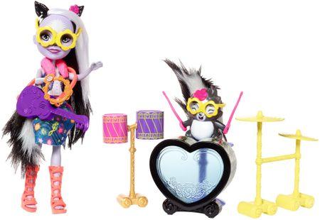 Mattel Enchantimals - Rockin Music Drumset játék készlet