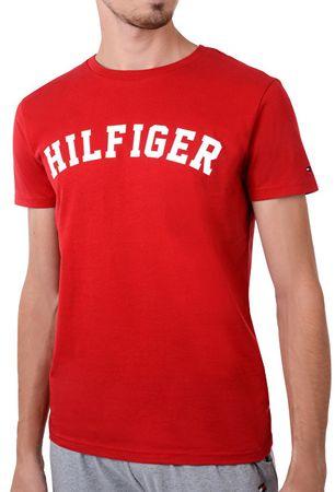 148eb9ee58c3a Tommy Hilfiger Pánske tričko Bold Cn Tee Ss Logo Tango Red UM0UM00054-611  (Veľkosť