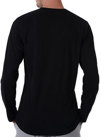 dce7918b4 Pánske tričko Comfort Cotton L/S Crew Neck NM1345E-001 Black (Veľkosť M ...