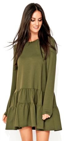Numinou női ruha 36 zöld