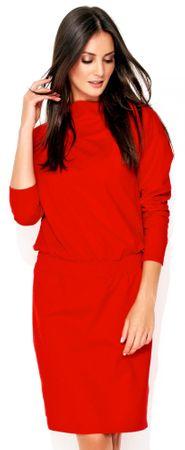 Numinou ženska obleka, 42, rdeča