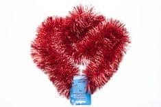 Seizis Vianočná dekoračná reťaz 4 ks, červené