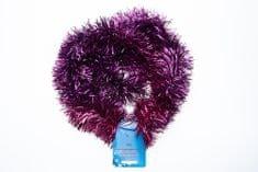 Seizis Vianočná dekoračná reťaz 4 ks, fialová