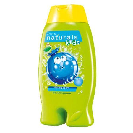 Avon Gyengéd bogyós gyümölcsös tusfürdő és habfürdő 2 az 1-ben (Body Wash & habfürdő) 250 ml