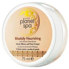Avon Vyživujúci krém na ruky, nohy a lakte s bambuckým maslom Planet Spa (Hand, Elbow and Foot Cream Blis