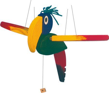 Woody leteća papiga - mala
