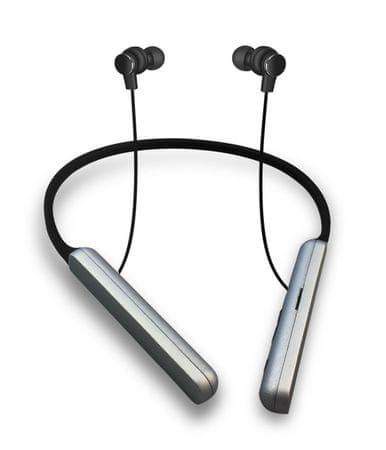 Platinet bluetooth športne slušalke z mikrofonom in MicroSD PM1074, črne