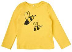 Garnamama dziecięca bluzka z pszczołą