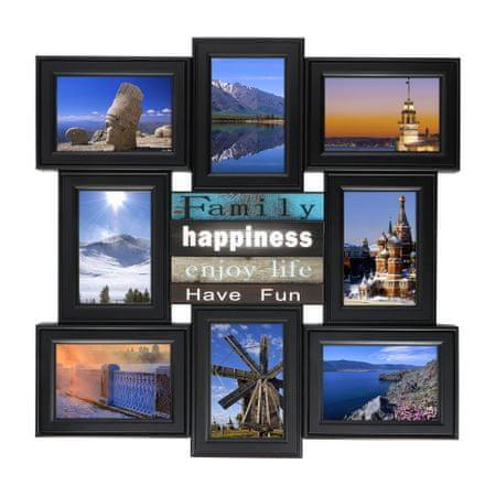TimeLife Fotorámeček 8 fotek, 52x52cm