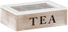 TimeLife Dekoracyjny pojemnik na herbatę