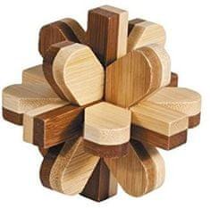 Fridolin IQ test Snowball, bambus puzzle