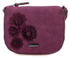 Tamaris ženska torbica borgonja Camira