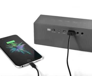 Bezdrátový reproduktor Fresh'n Rebel Rockbox Brick Fabriq Edition powerbanka USB vstup