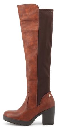 XTI ženski škornji, 37, rjavi