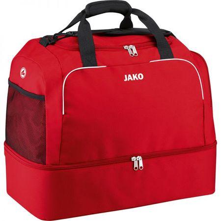 JAKO CLASSICO sportovní taška se dnem vel. 1, červená