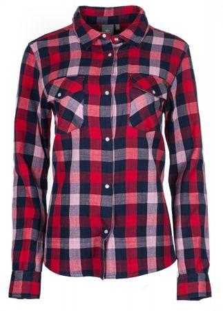 Rip Curl női ing Check In XS piros