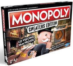 HASBRO Monopoly Cheaters edition - rozbalené