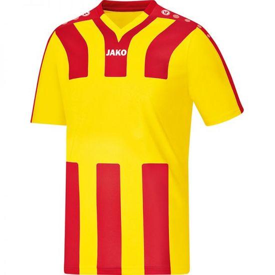 JAKO SANTOS dres krátký rukáv vel. 152, červená/žlutá