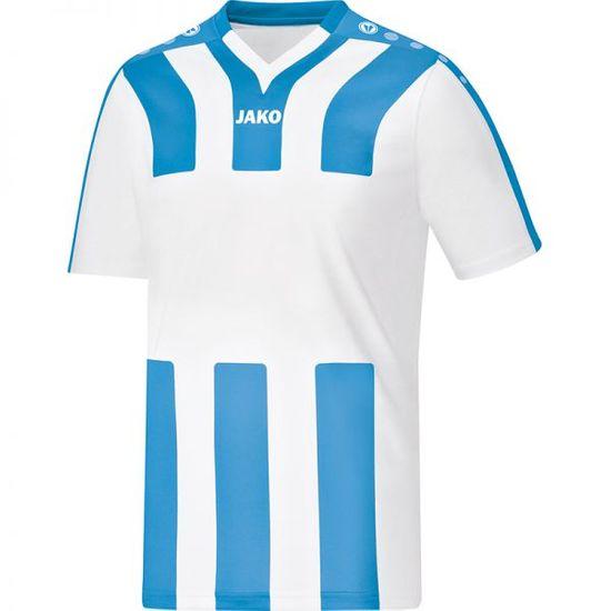 JAKO SANTOS dres krátký rukáv vel. 128, světle modrá/bílá