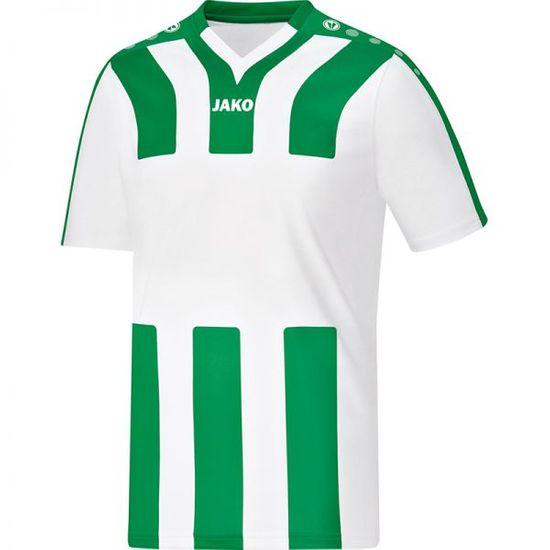 JAKO SANTOS dres krátký rukáv vel. 140, bílá/zelená