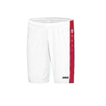 JAKO CENTER trenky basketbal vel. 3XL, bílá/červená