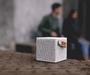 8 - Fresh 'n Rebel Rockbox Cube Fabriq Edition, světle šedá