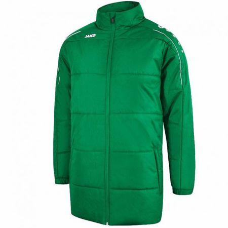 JAKO CLASSICO zimní bunda bez kapuce vel. 4XL, zelená