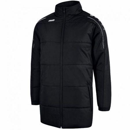 JAKO CLASSICO zimní bunda bez kapuce vel. S, černá
